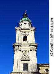Salzburg Cathedral Bell Tower, Salzburg, Austria