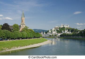 Salzburg City Historic Center And E