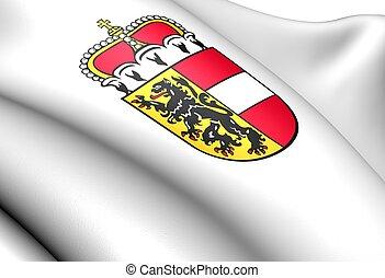 Salzburg coat of arms, Austria.