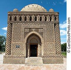 samani, buchara, -, uzbekistán, ismail, mausoleo