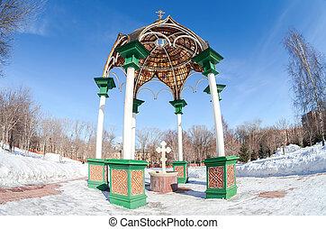 samara, monastère, chapelle, russie, résurrection