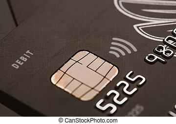 Samara, Russia-July 25.2016: MasterCard Privilege credit...