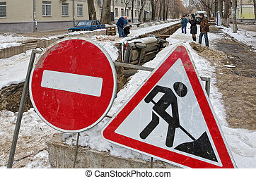 SAMARA, RUSSIA - MARCH 2: ?ar accident. Effects of drunk drivin