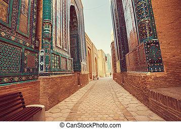 Samarkand - Medrese in ancient city Bukhara, Uzbekistan