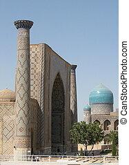 Samarkand Registan Ulugh-beg Madrasah 2007 - Ulugh-beg...