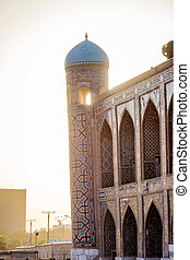 Samarkand Registan, Uzbekistan - Detail of Samarkand...