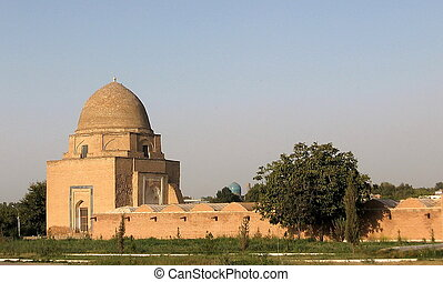 Rukhobod Mausoleum, Samarkand, Uzbekistan, Historic buildings