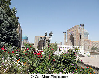 Samarkand the Registan 2007