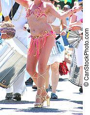 Samba dancers.