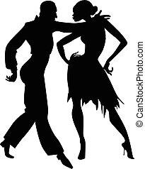 Samba silhouette
