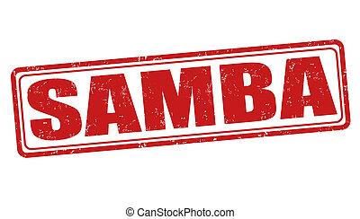 Samba stamp