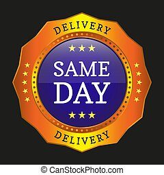 same day delivery button