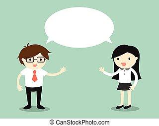 Same idea/concept. - Business concept, businessman and...