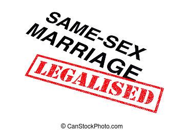 Same-Sex Marriage Legalised