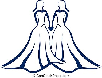 Same sex marriage logo