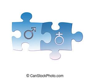 Same - sex marriages: Heterosexual Couple
