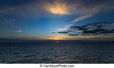 samed, δύση θαλασσογραφία , νησί
