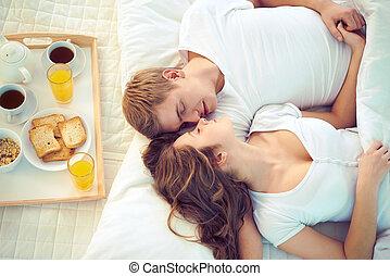 samen, slapende