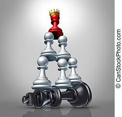 samenwerking, strategie