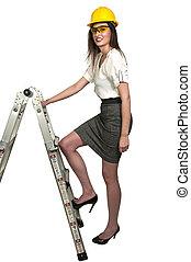 samica, budowlaniec