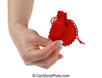 samica, dzierżawa ręka