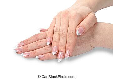 samicze ręki