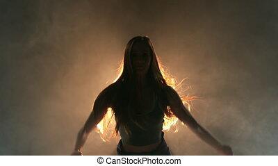 samiczy danser