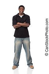 samiec, afrykańska amerikanka, młody