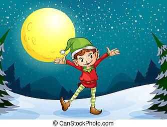 samiec, elf