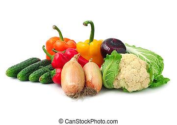 samling, grønsager