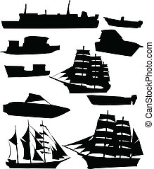 samling, i, skibe
