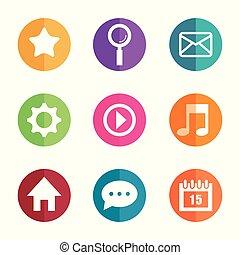 sammlung, app, online kaufen, web, tasten