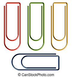 Buroklammern Vektor Clipart Illustrationen 75 811 Buroklammern Clip