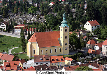 Samobor - city in Croatia