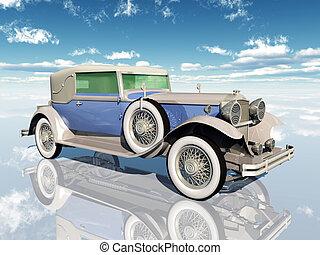 samochód, amerykanka