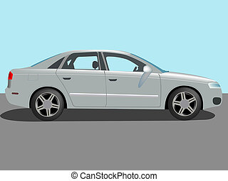 samochód, wektor