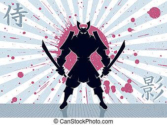 samouraï, fond