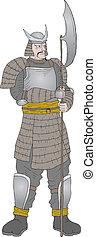 samouraï, guerrier