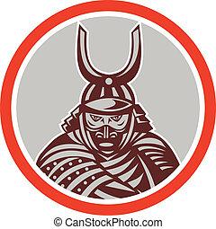 samouraï, katana, attaquer, épée, guerrier