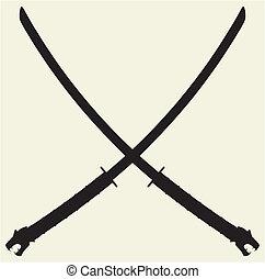 samouraï, katana