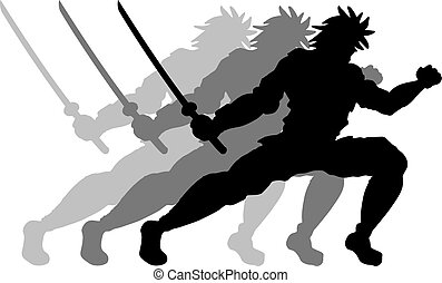 samouraï, mouvement