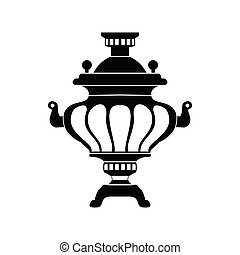 Samovar icon, simple style