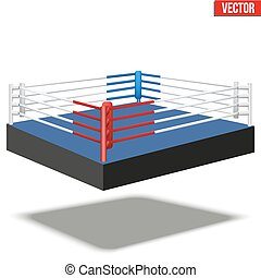Sample boxing ring.