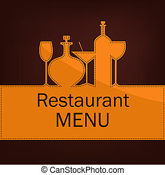 Sample menus for restaurants and cafes