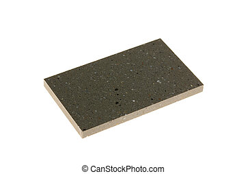 Sample of artificial stone