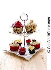 Sample of cupcakes