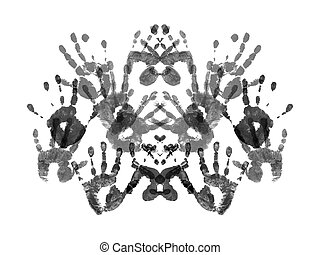 Sample of Rorshach test