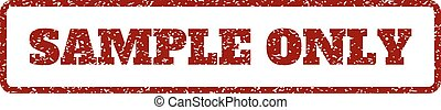 Sample Only Rubber Stamp
