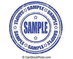 Sample -stamp
