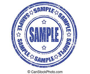 Sample -stamp